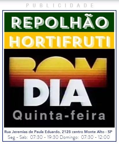 BOM DIA! QUINTA-FEIRA - REPOLHAO.COM.BR.