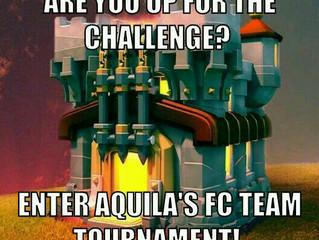 Enter Aquila's FC Team Tournament
