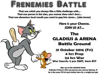 CENTUM FRIENDLY WAR!