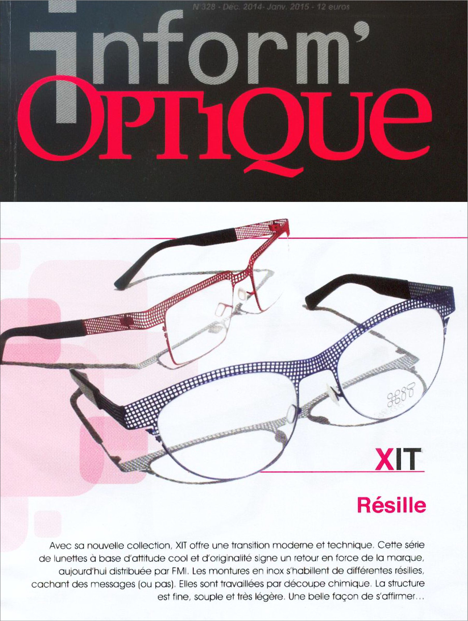 inform' OPTIQUE january 2015