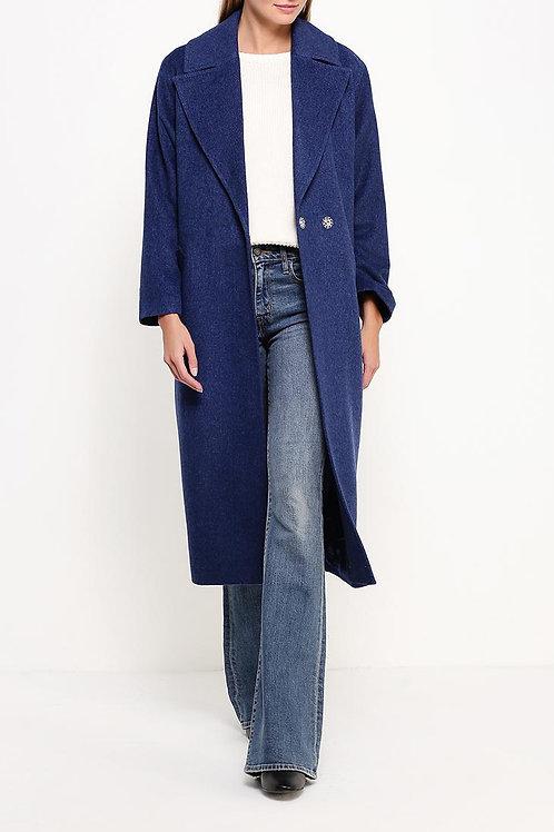 Пальто ниже колена утепленное
