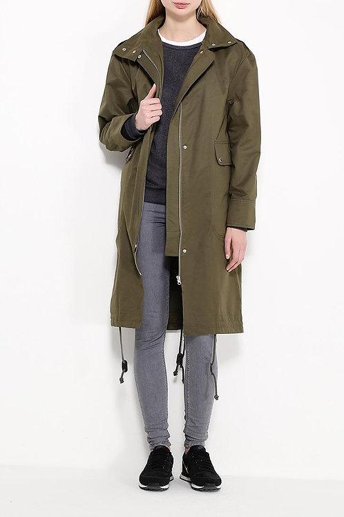 Куртка ниже колена без подклада