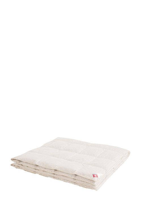 Одеяло односпальное на пуху