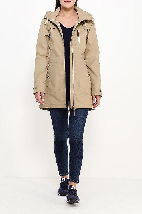 Куртка до колена без подклада