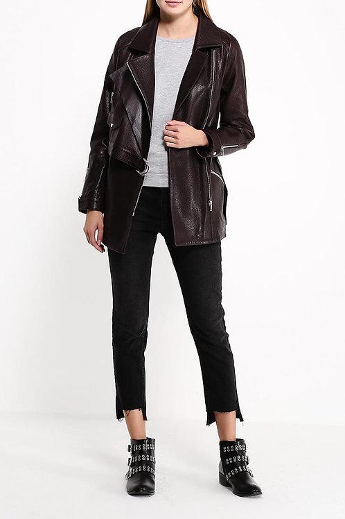 Куртка до бедра кожа