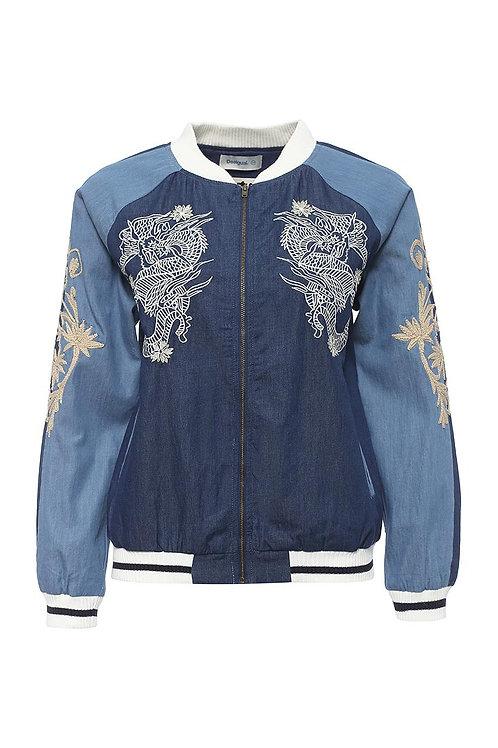 Куртка джинсовая с подкладом