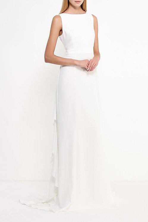 Длинное простое платье