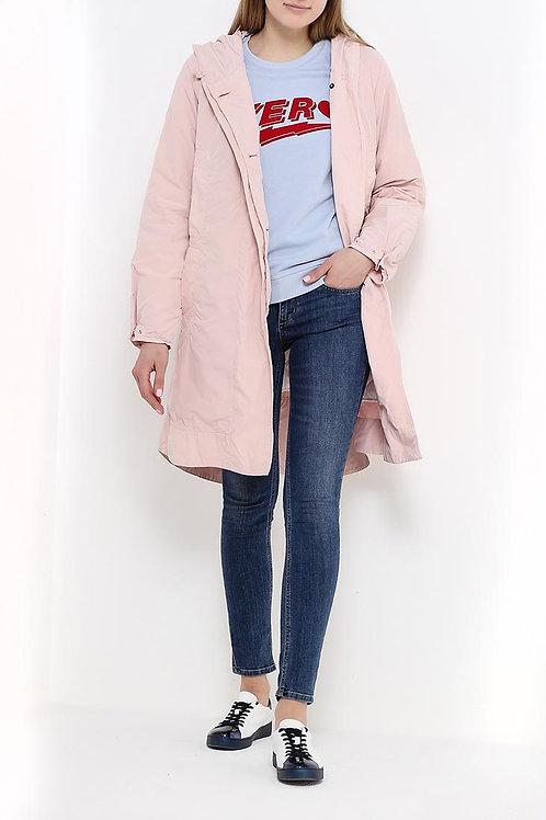 Куртка до колена текстиль