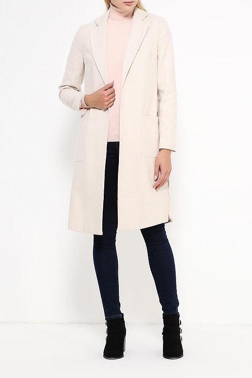 Пальто до колена с подкладом