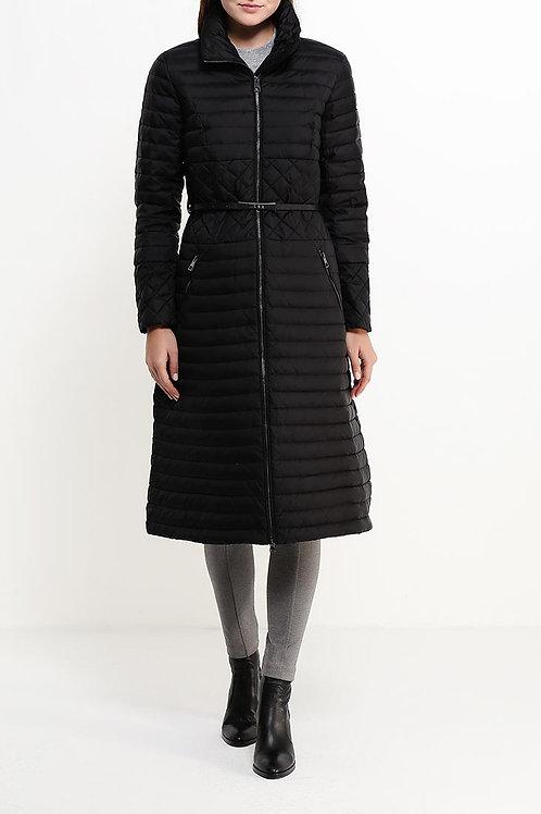Пальто ниже колена на пуху
