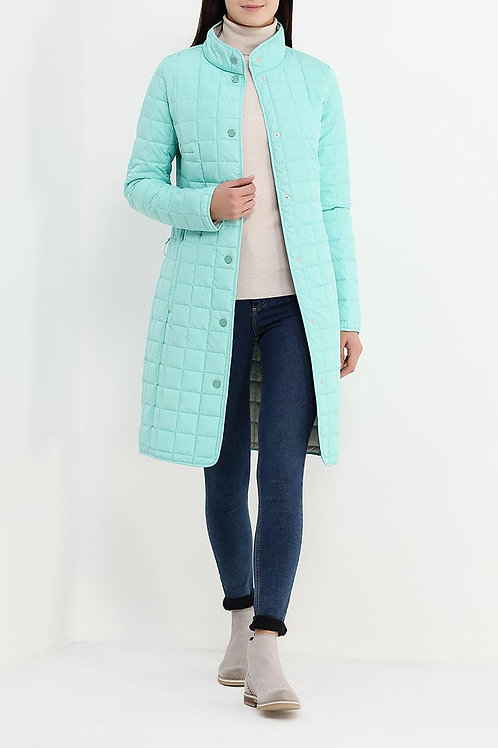Куртка до колена утепленная