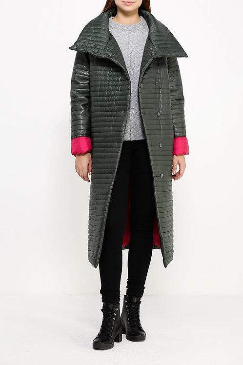 Куртка ниже колена утепленное