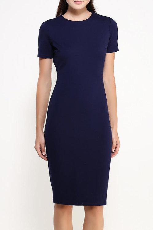 Платье длинное простое