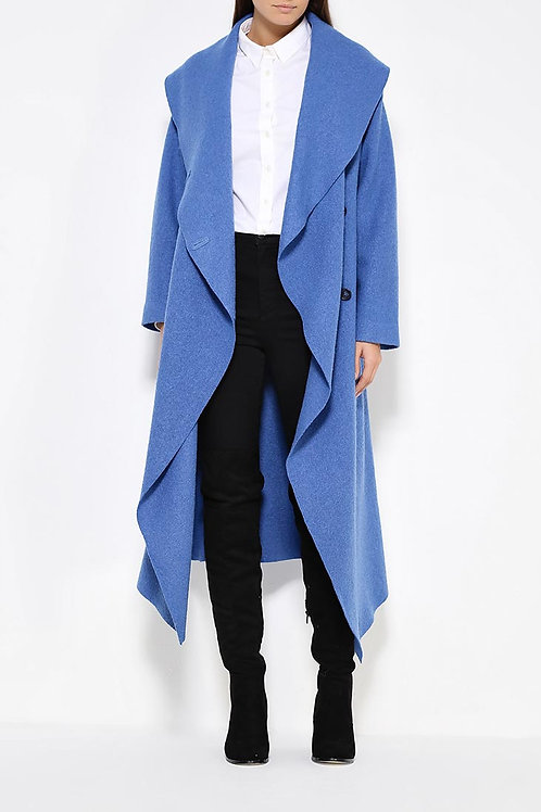 Пальто ниже колена без подклада