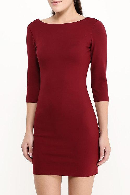 Платье короткое простое