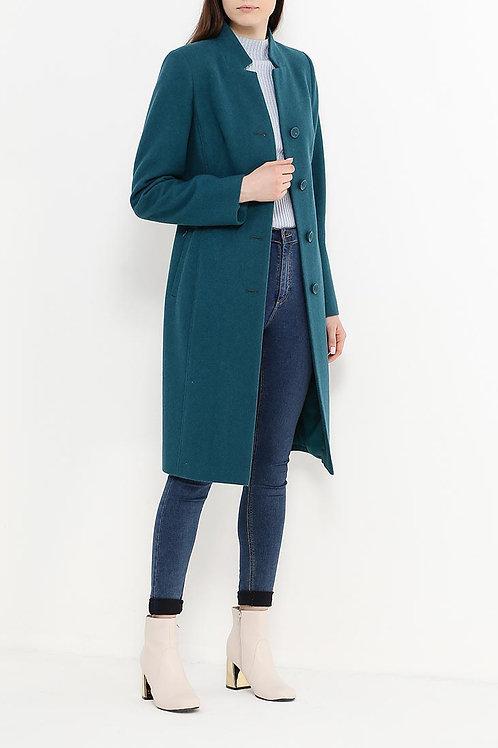 Пальто до колена драп