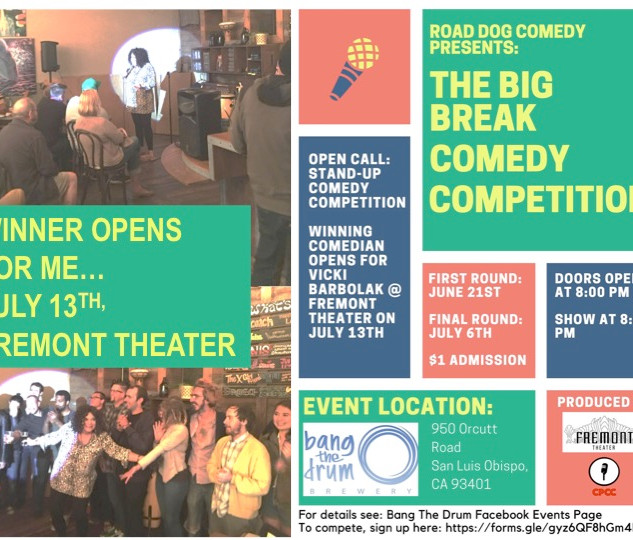 The Big Break Comedy Competition