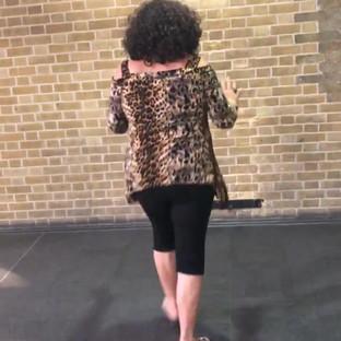 Vick at Harry Potter Platform.mov