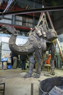 скульптура животных