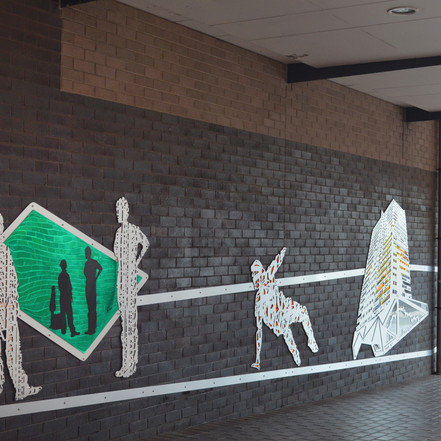 It's Our Thing Part III, City Shift. Mackenzie Walkway, Blacktown CBD