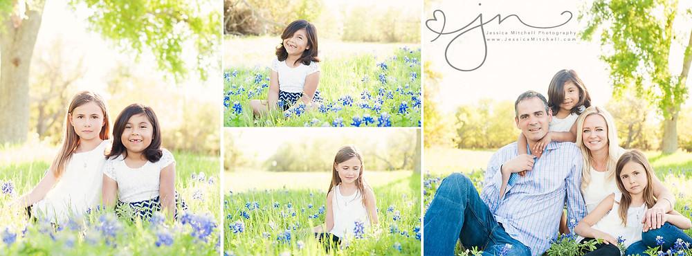 Family Bluebonnet Photography Mini Sessions Austin Tx - Jessica Mitchell Photography
