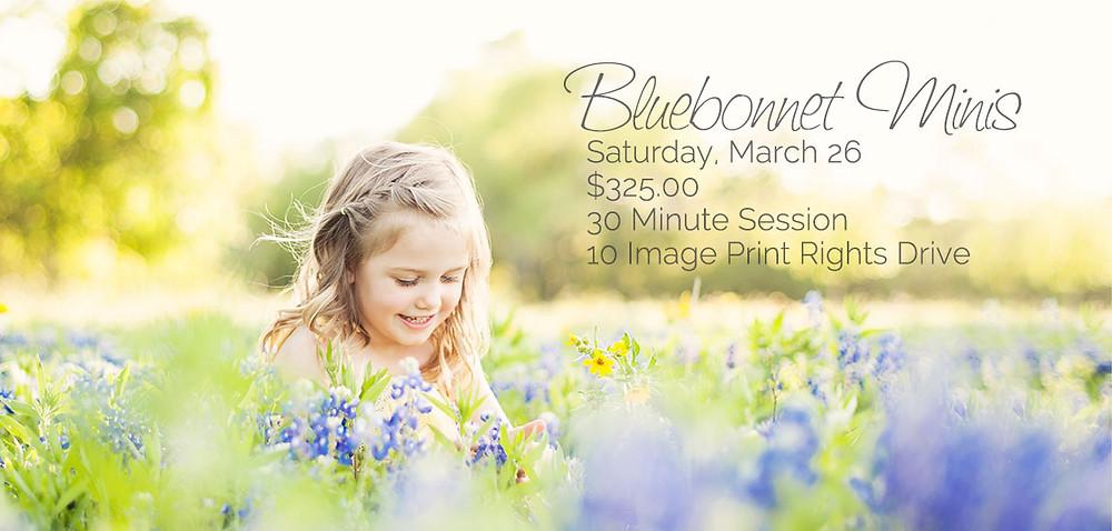 Children Bluebonnet Photography Mini Sessions Austin Tx - Jessica Mitchell Photography