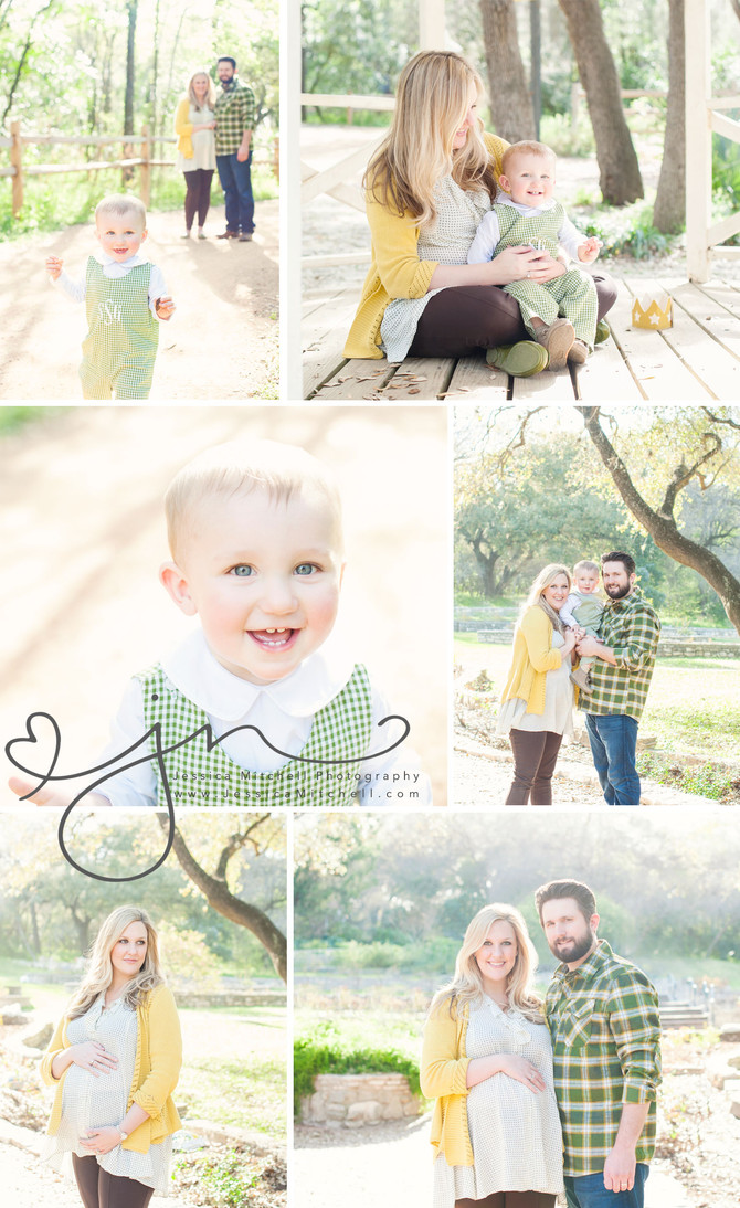 Maternity Photography Austin, Tx | Jessica Mitchell Photography {Turning One + A Bun}