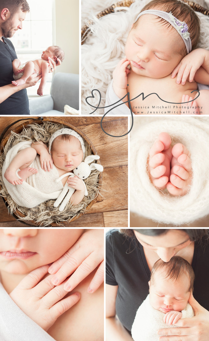 Newborn Photography Austin, Tx | Jessica Mitchell Photography {Beautiful Evelyn + Family}