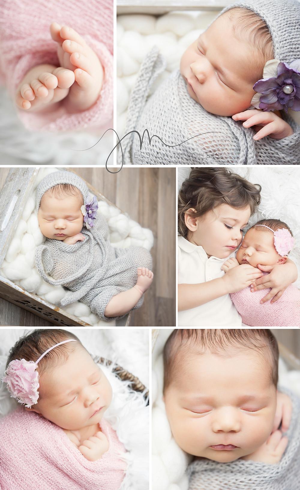 Newborn Photography Austin Tx | Jessica Mitchell Photography | Baby boy newborn posing