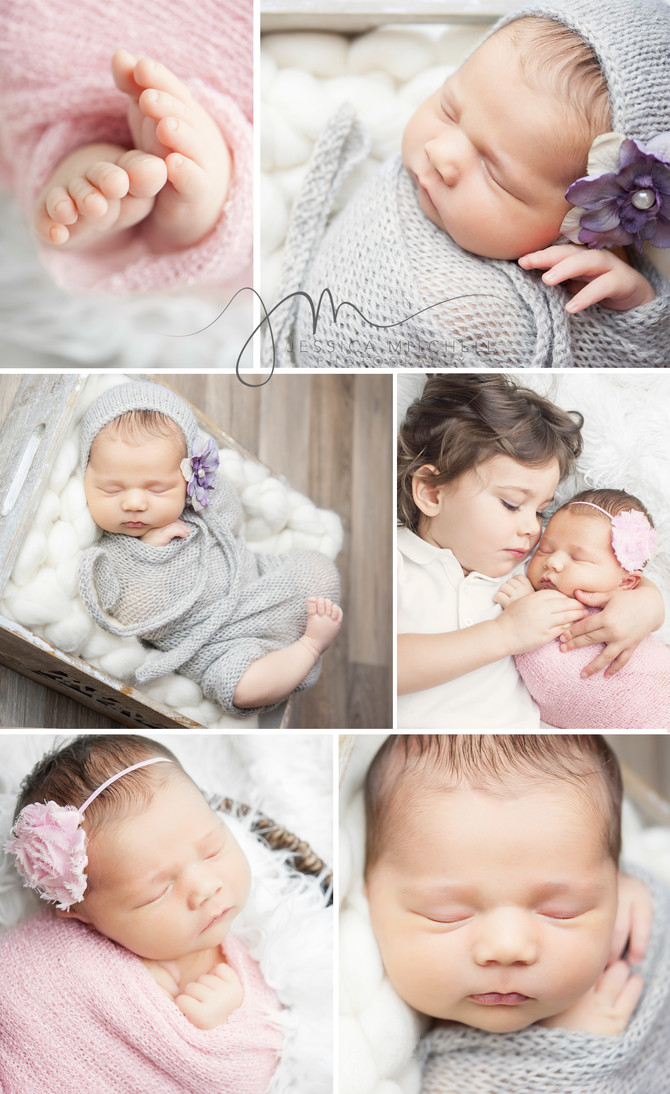 Newborn Photography Scottsdale, Az | Jessica Mitchell Photography {Sweet Charlotte}