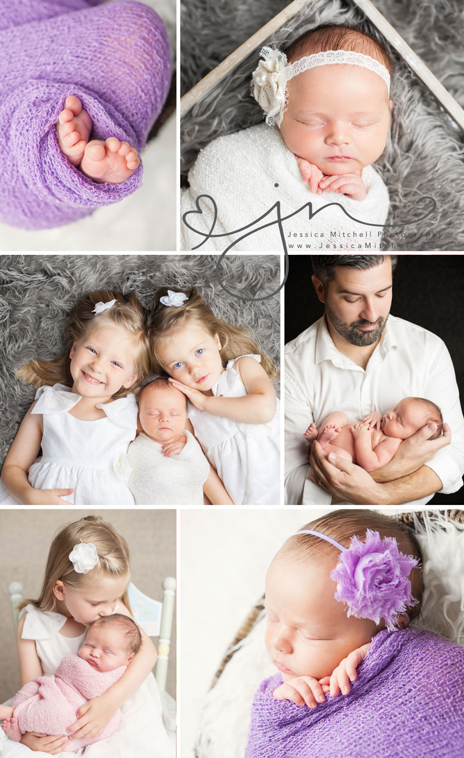 Newborn Photography Austin, Tx | Jessica Mitchell Photography {Sweet Ella & Her Family}