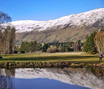 The gorgeous Kingston Golf Course