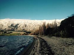 Winter at Lake's End Lodge