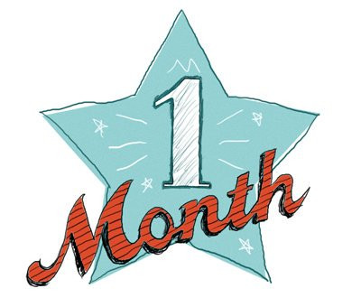 Blue Lake Accelerator is 1 month old today!