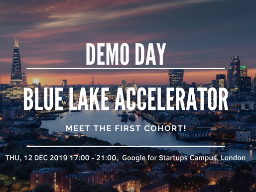 Blue Lake Demo Day in London. Save the date!