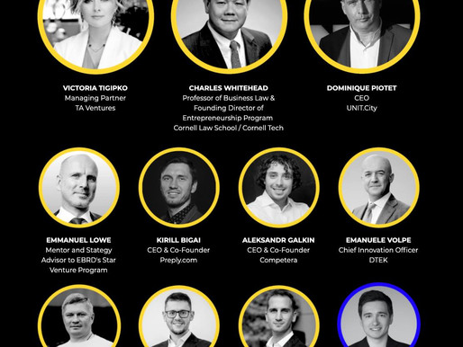 'Developing the startup and scaleup ecosystem in Ukraine'