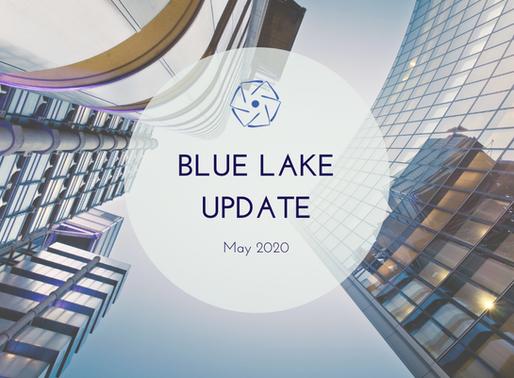 Blue Lake Update, May 2020