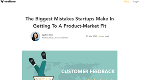 The Biggest Mistakes Startups Make In Getting To A Product-Market Fit, by Lyubov Guk