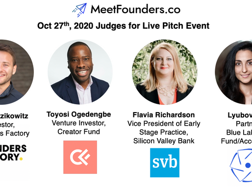 Lyubov Guk will be speaking at the next MeetFounders investment event