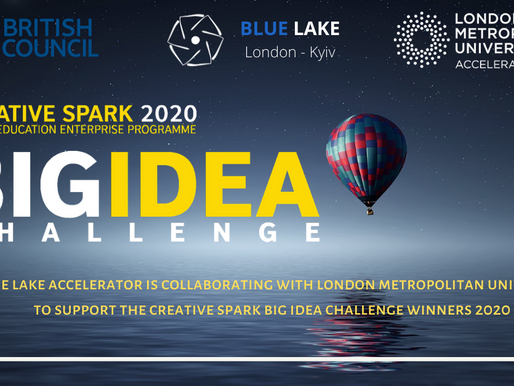 Blue Lake joins London Metropolitan University & British Council in support of the Creative Spark!