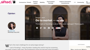'Go to market — or die', by Lyubov Guk for Sifted
