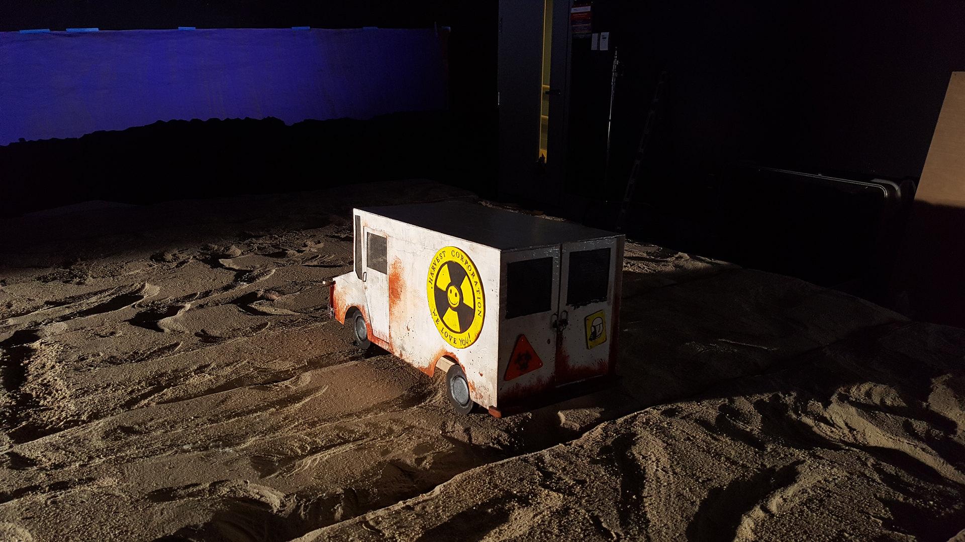 Truck on Land