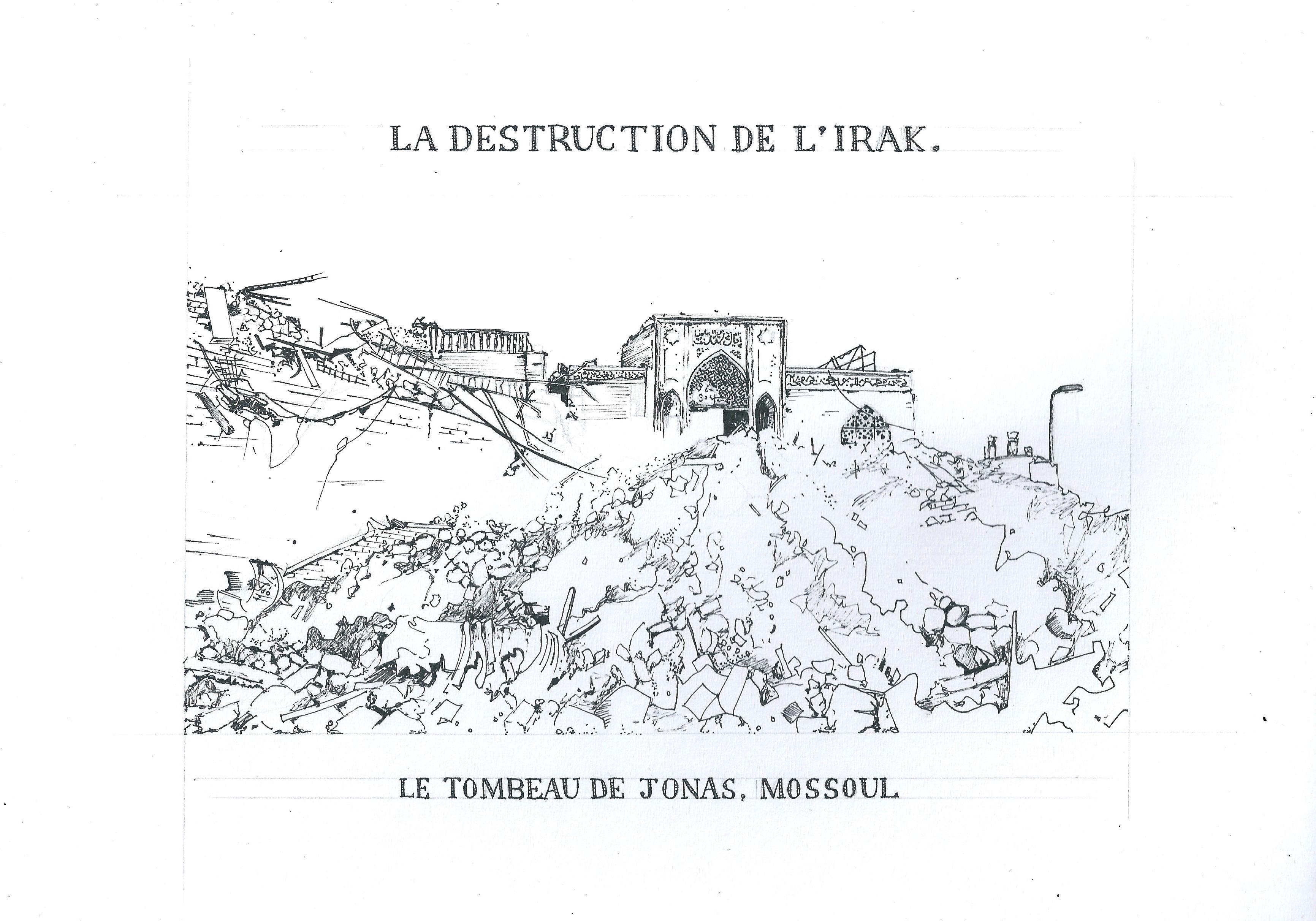 La Destruction de l'Irak