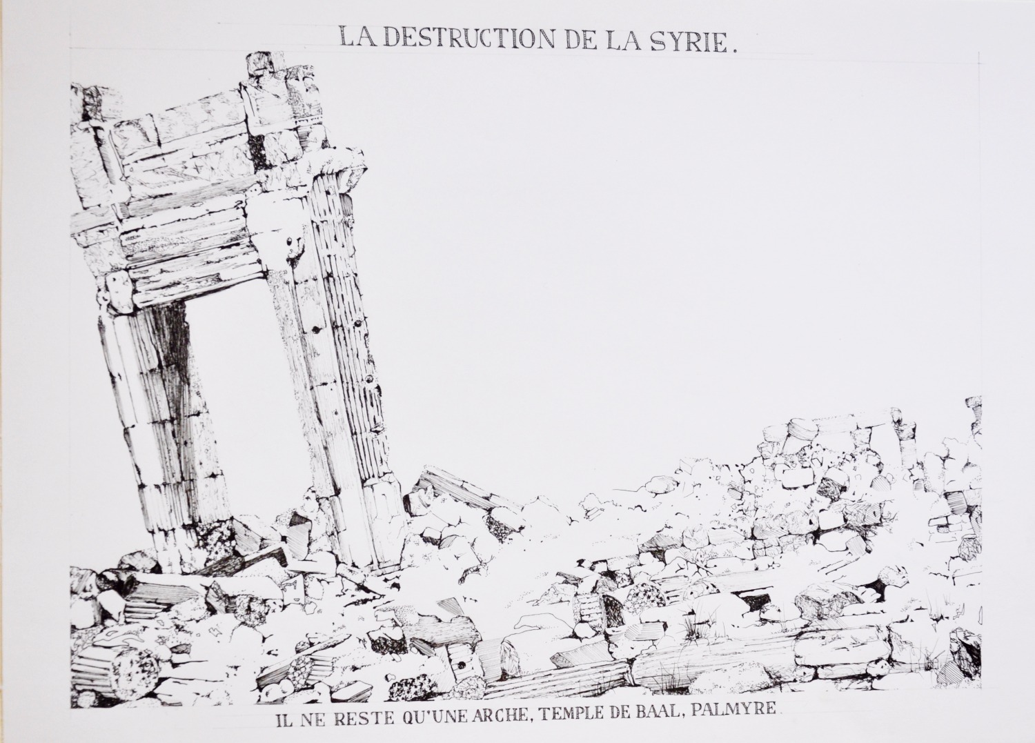 La Destruction Du