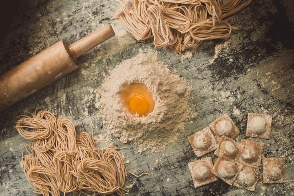 home made pastas fom scratch