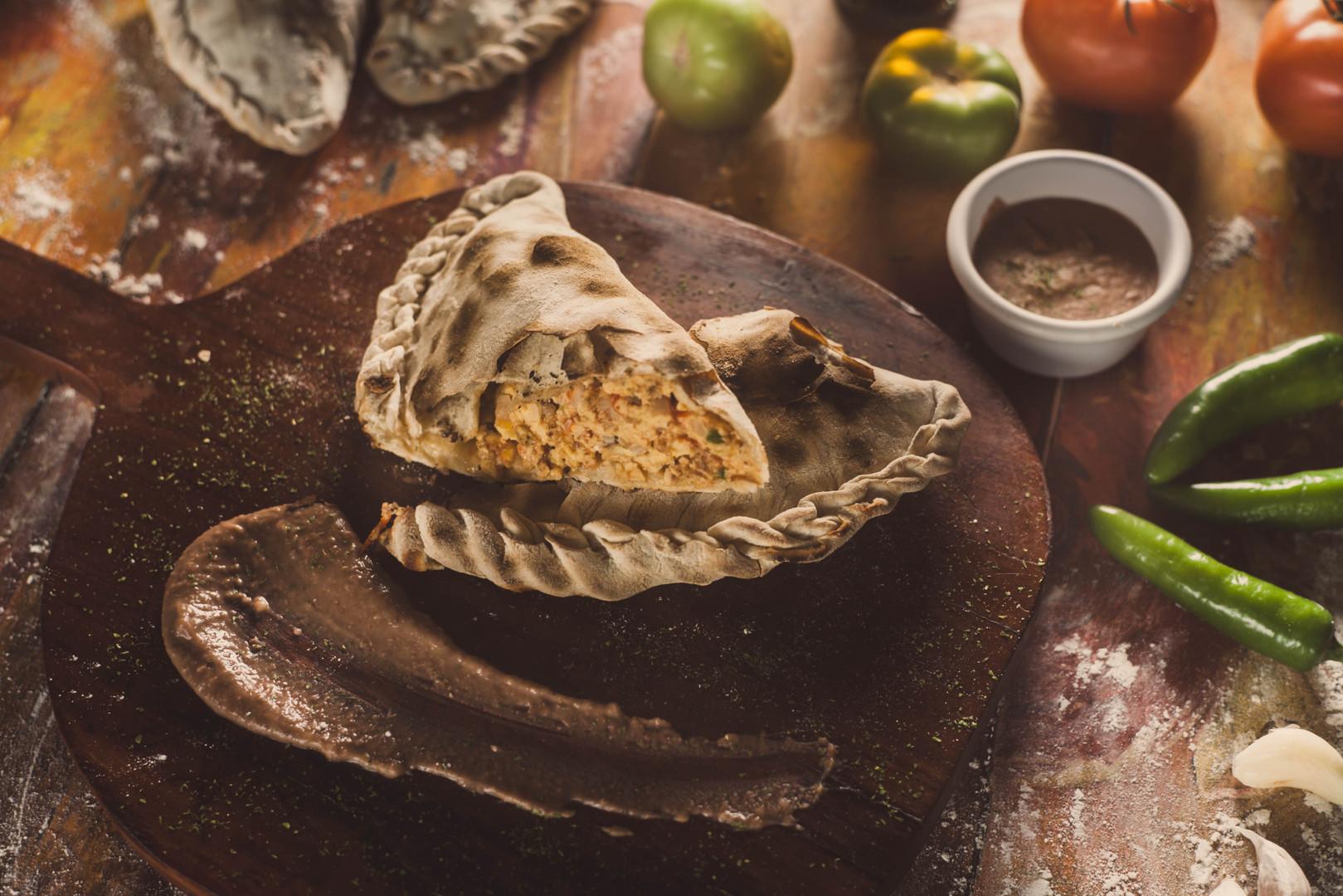 calzon de huevos a la mexicana