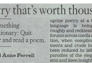 Poetry that's Worth Thousands