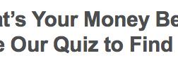 What's Your Money Belief?