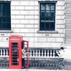 The London pose