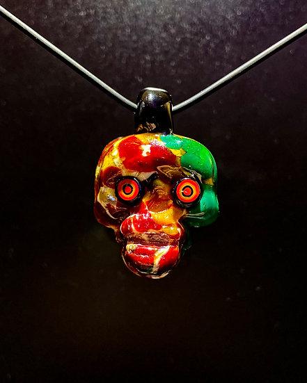 Pendy Skull Murano Glass #2
